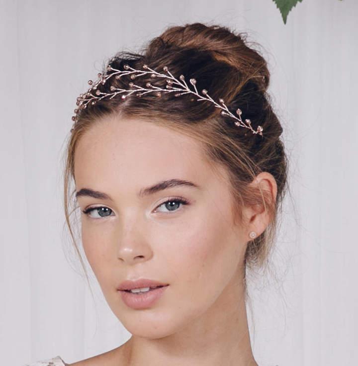 Debbie Carlisle Boho Wedding Browband Or Tiara Leander