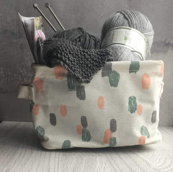 The Contemporary Home Pastel Storage Basket