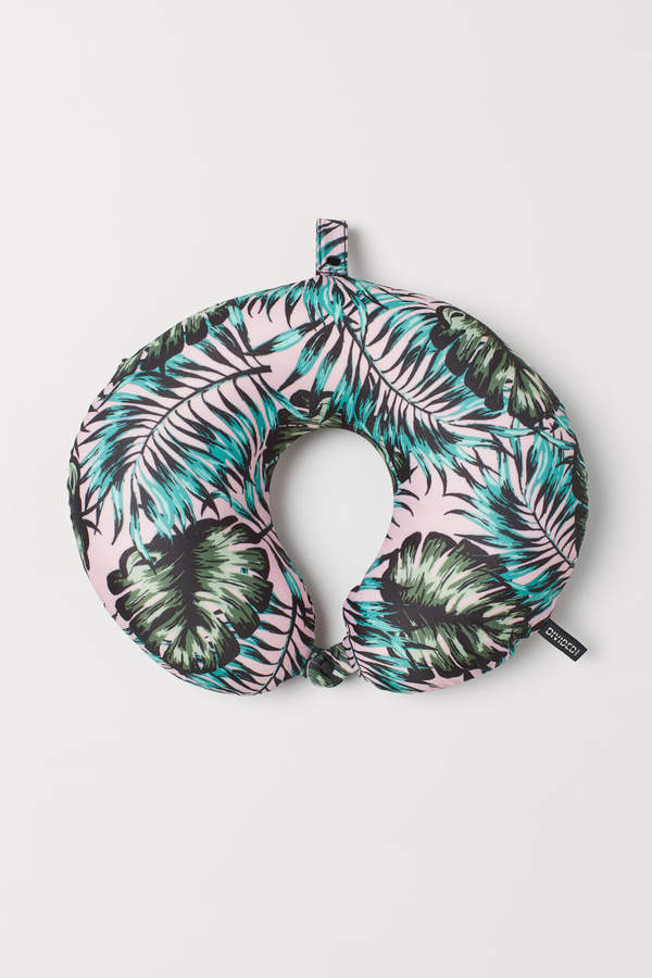 H&M - Patterned Travel Pillow - Pink