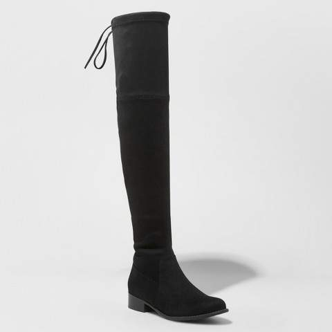 A New Day Women's Sidney Over the Knee Sock Boots