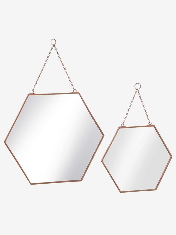 Vertbaudet Pack of 2 Hexagonal Mirrors