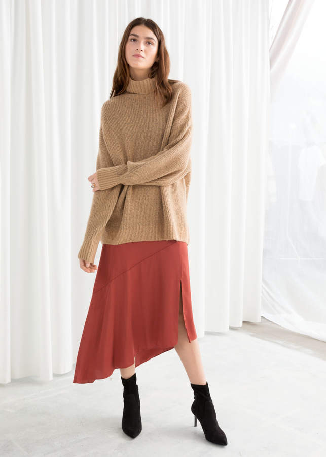 And other stories Oversized Turtleneck Sweater