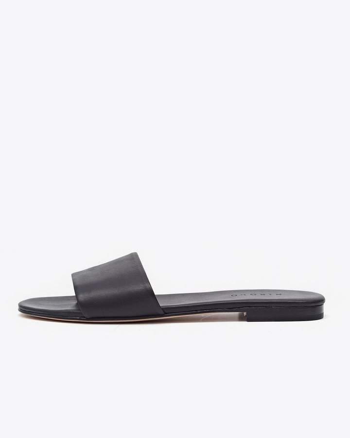 Nisolo Isla Slide Sandal Black