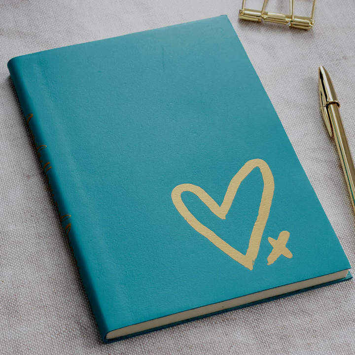 Livi & Belle Personalised Leather Hopes And Dreams Journal