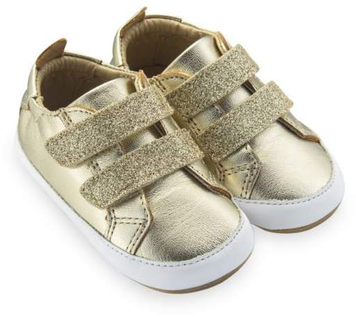 Old Soles Baby Girl's Bambini Glam Leather Sneakers