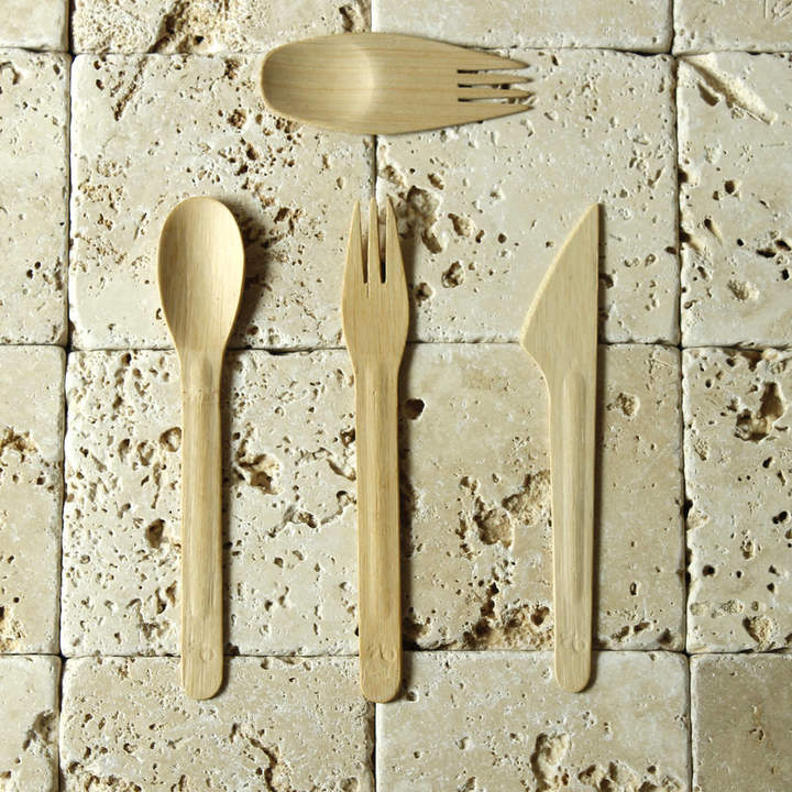 green tulip ethical living Biodegradeable Party Cutlery Packs Of 250