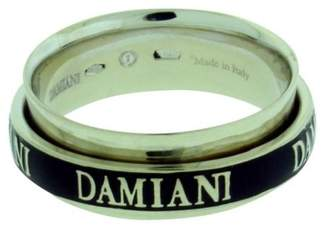 Double Band Ring   ShopStyle Pre Owned at TrueFacet      Damiani 18K White Gold   Diamond Twister Double  Band Ring Size 7 5