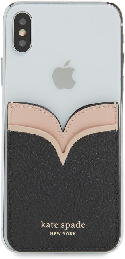 Kate Spade New York Sam Double Sticker Phone Pocket