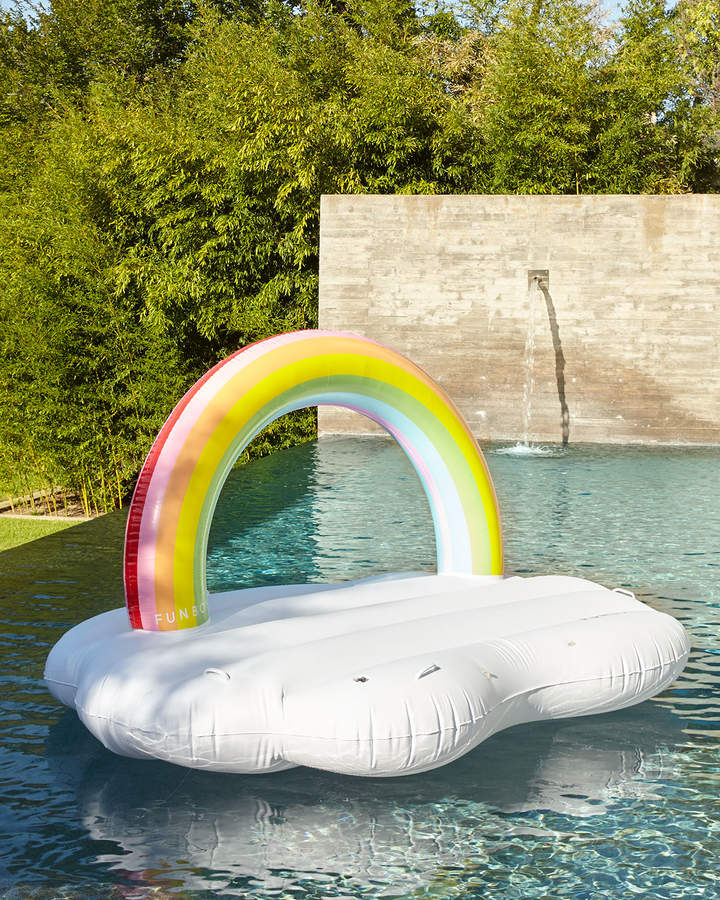 Funboy Rainbow Cloud Daybed Pool Float