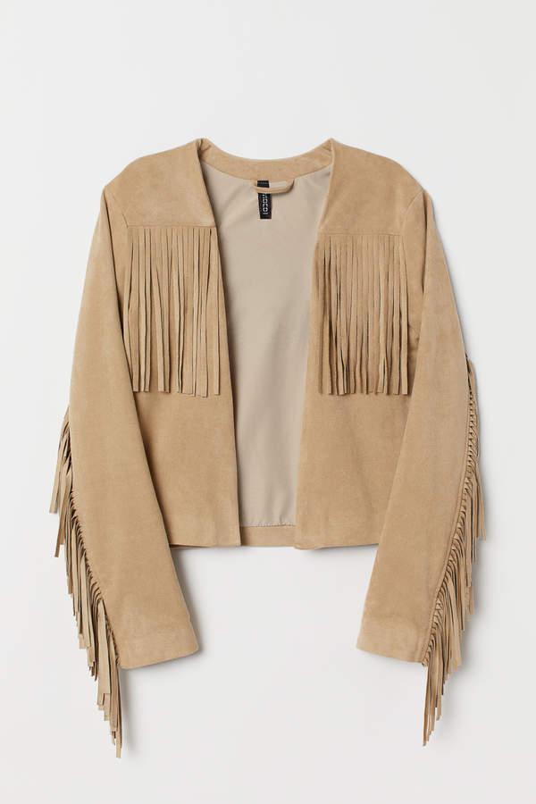 H&M Jacket with fringing