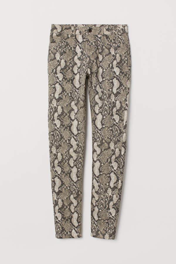 H&M - Super Slim-fit Pants - Beige