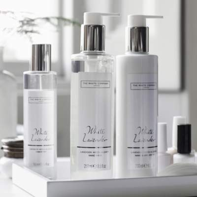 The White Company White Lavender Hand & Nail Gift Set