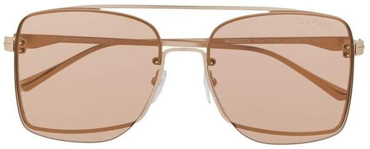 Tom Ford Eyewear aviator frame sunglasses