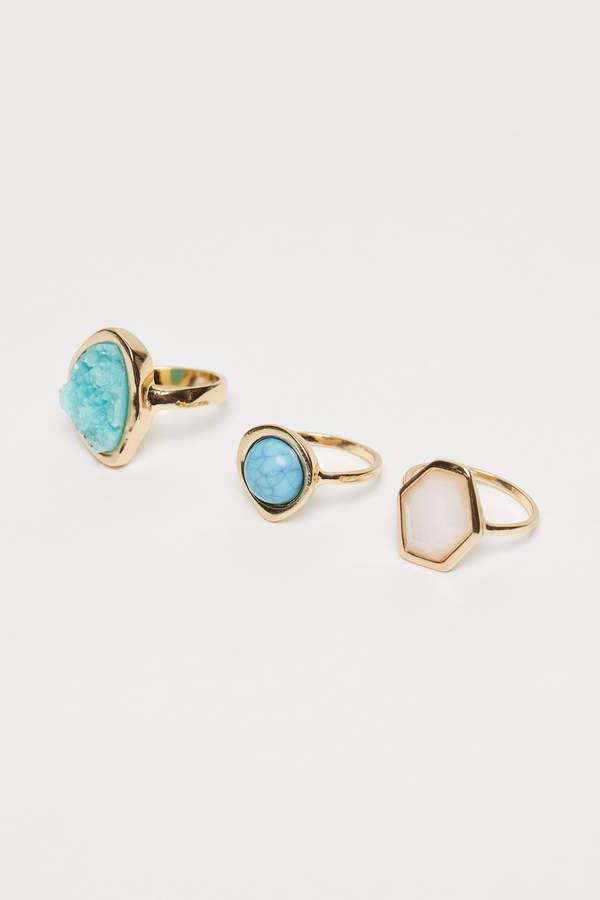 H&M 3-pack rings