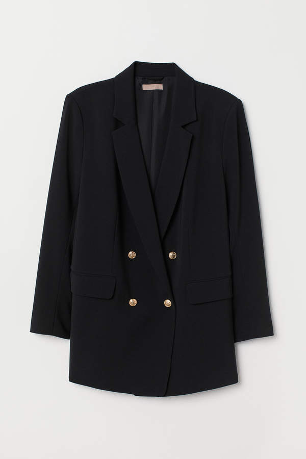 H&M+ Double-breasted jacket