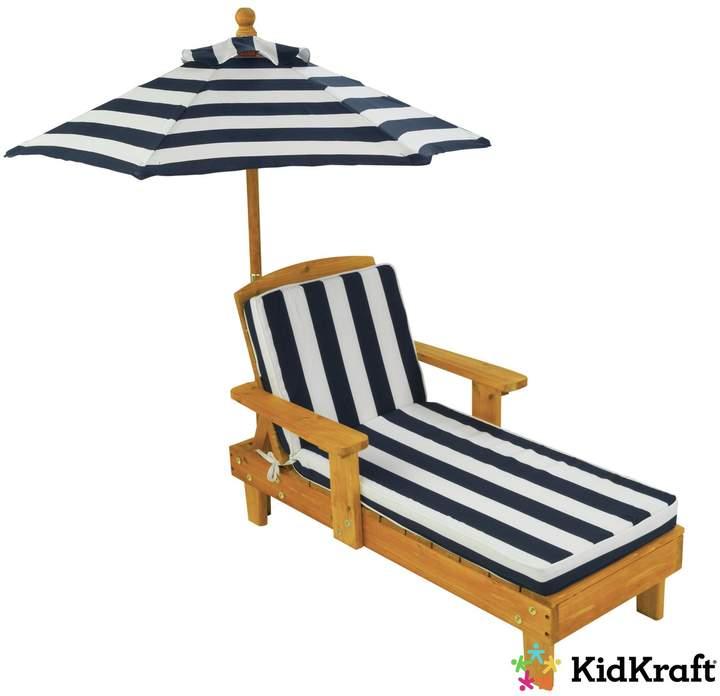 Kidkraft KidKraft Outdoor Chaise With Umbrella