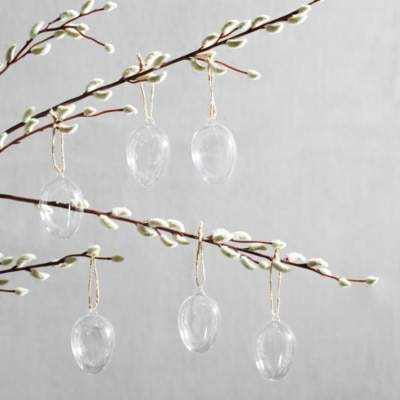 The White Company Easter Egg Decoration Set of 6