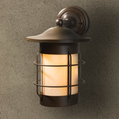 hurteau 1 light outdoor wall lantern finish new verde shade finish wispy white size 13 25 h x 8 5 w x 11 25 d