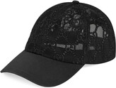 GUCCU GG EMBROIDERED BASEBALL HAT