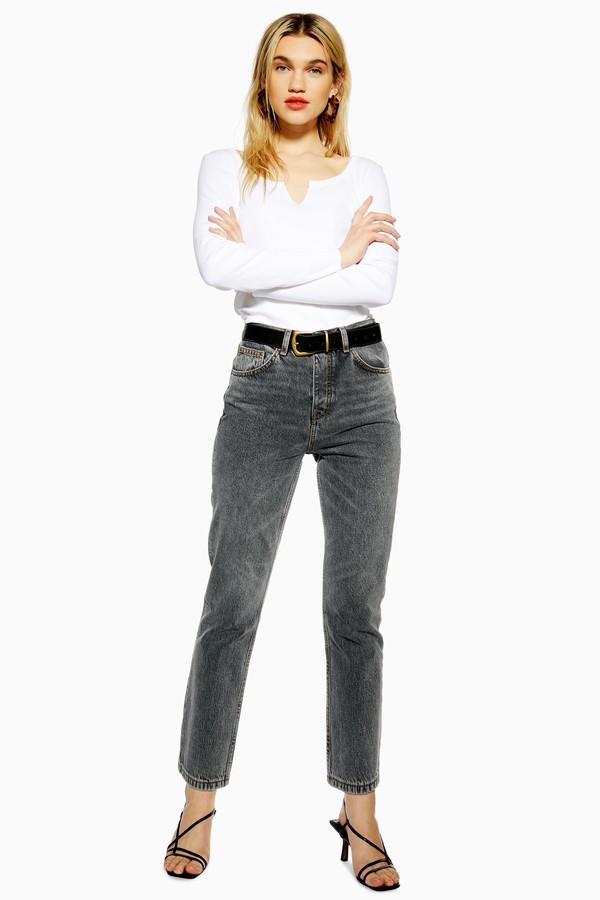 Womens Grey Editor Jeans - Grey
