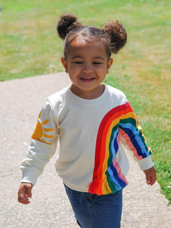 Little Cub Sun And Rainbow Top