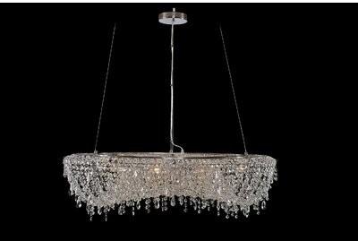 robstown 8 light unique statement empire chandelier