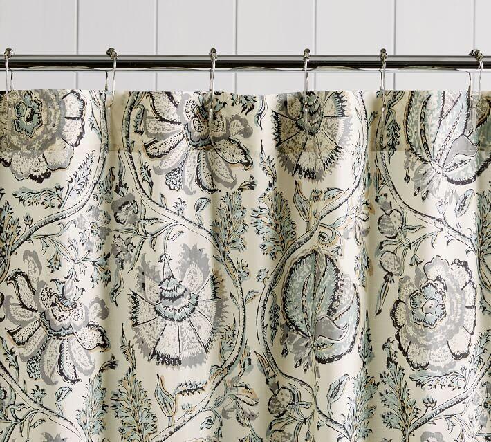 haylie organic shower curtain