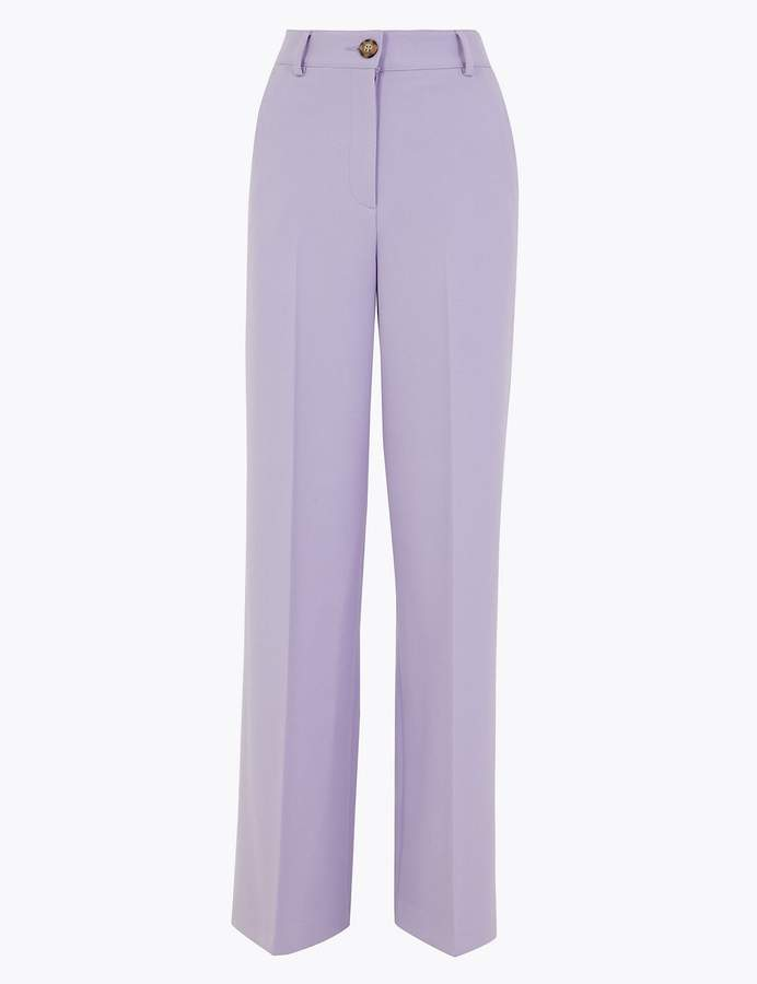 M&S CollectionMarks and Spencer Wide Leg Trousers