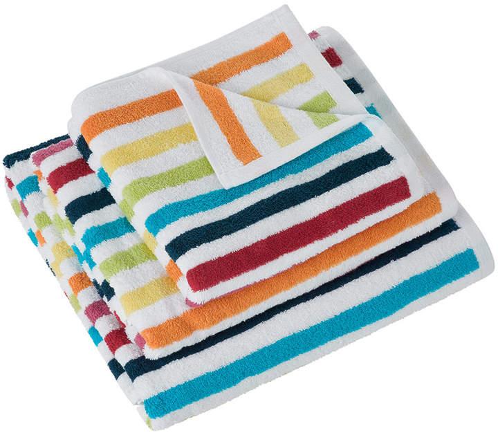 A By Amara A by Amara - Rainbow Stripe Towel - Bath Sheet