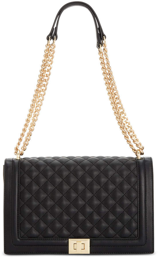 Inc Ajae Quilted Flap Crossbody, Created for Macy's