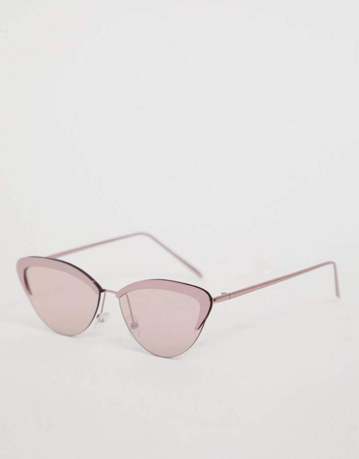 Skinnydip Skinny Dip Verity Pink Sunglasses
