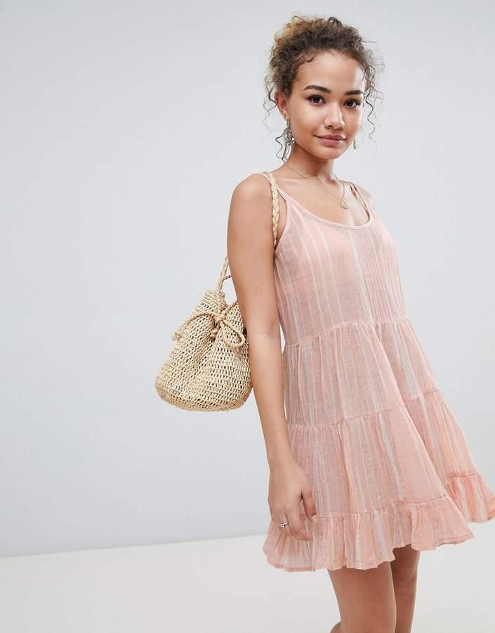 En Crème En Creme sleeveless dress with shoulder strap