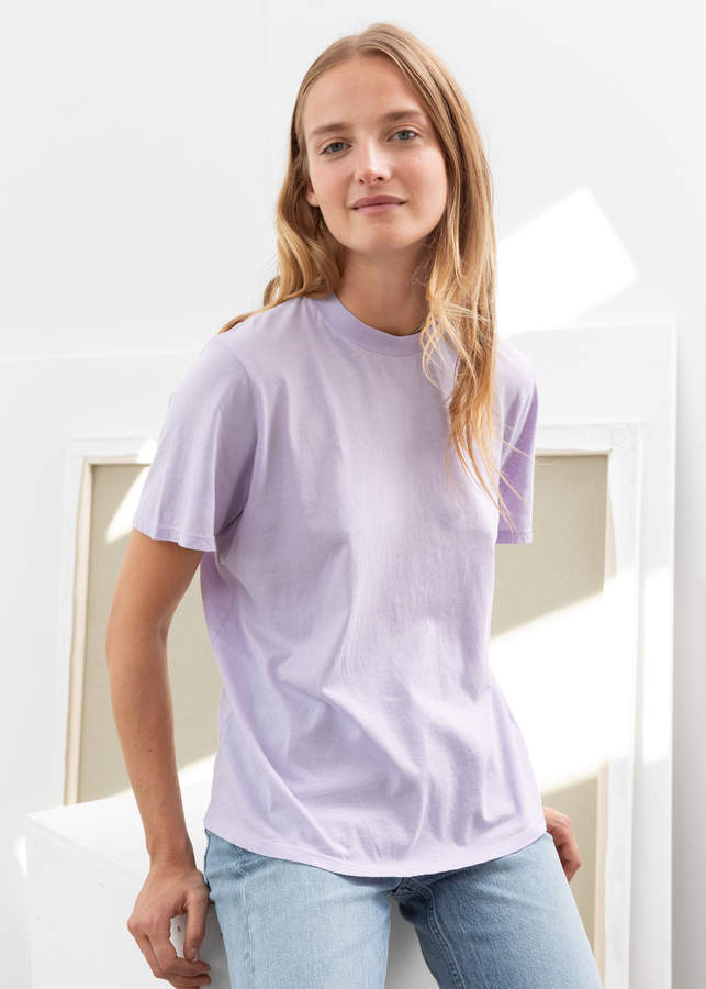 And other stories Organic Cotton Crewneck T-Shirt
