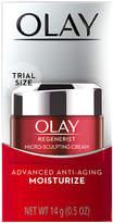 Olay Regenerist Micro-Sculpting Cream Face Moisturizer, Trial Size