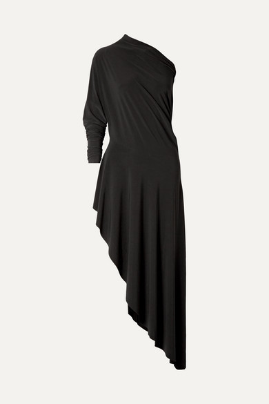 Norma Kamali - Convertible Stretch-jersey Maxi Dress - Black