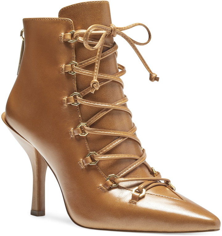 Vanida Lace-Up Bootie