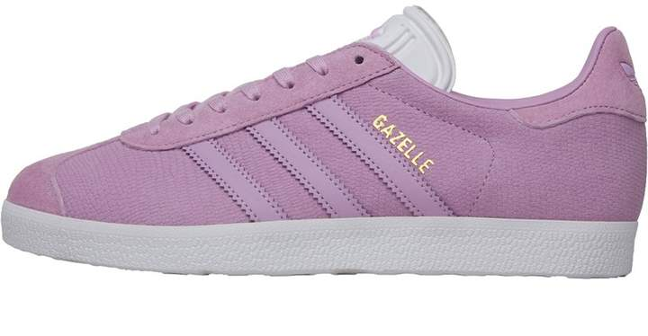 Adidas Originals adidas Originals Womens Gazelle Trainers Clear Lilac/Clear Lilac/Footwear White