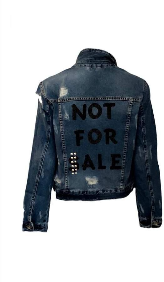HIPCHIK Not Denim Jacket