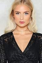 nastygal Out of the Loop O-Ring Choker