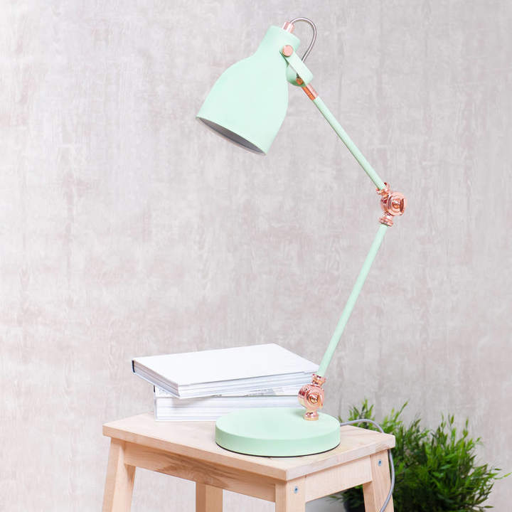 The Best Room Mint Green Task Lamp