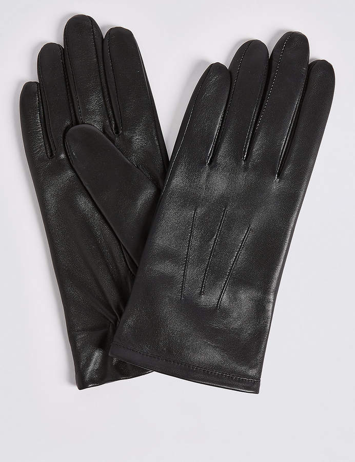 M&S CollectionMarks and Spencer Leather Gloves