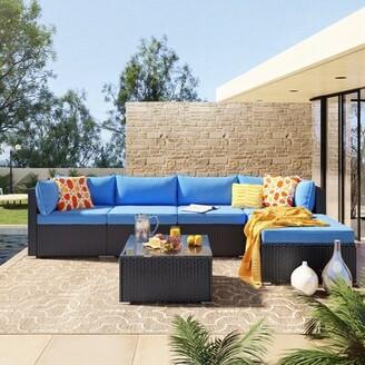 blue patio cushions shop the world s