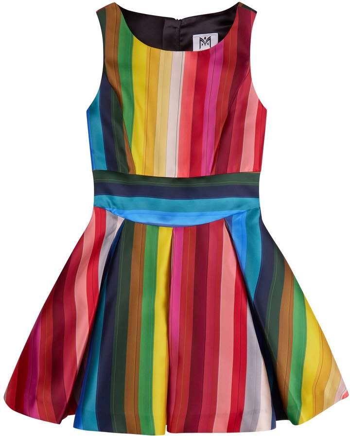 Milly Mini Rainbow Stripe Dress