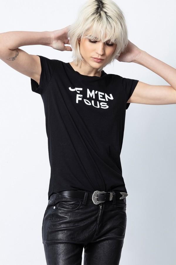 Je M'en Fous Skinny T-Shirt