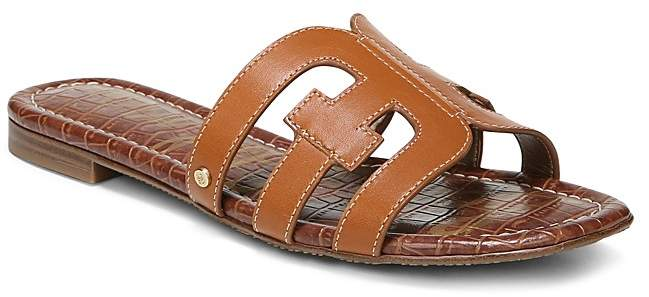 Sam Edelman Women's Bay Leather Slide Sandals