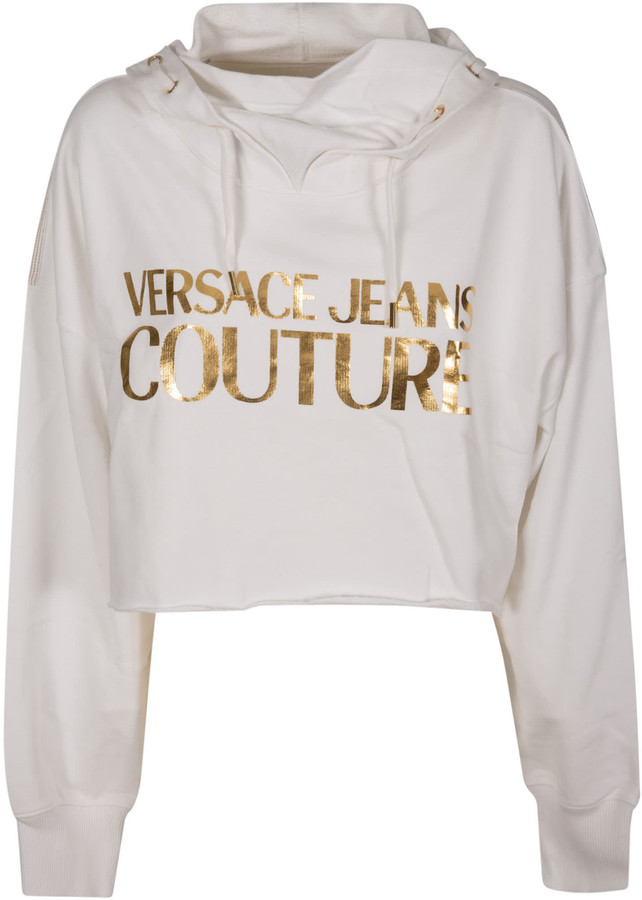 Versace Jeans Couture Metallic Logo Hoodie