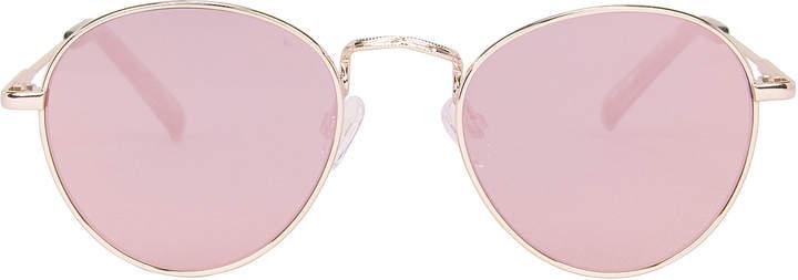 Le Specs Zephyr Deux Mirrored Sunglasses