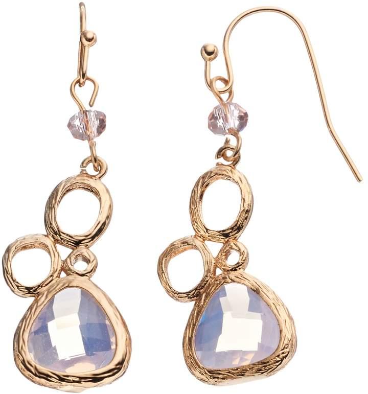 Loli Bijoux LOLI BIJOUX Breast Cancer Awareness Pink Teardrop Earrings