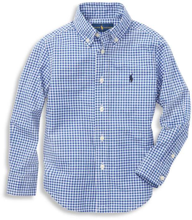 Ralph Lauren Little Boy's & Boy's Cotton Poplin Sport Shirt