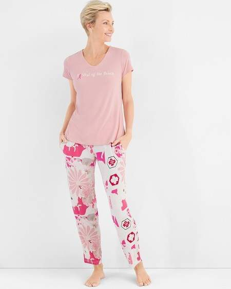 Chicos Living Beyond Breast Cancer Pajama Set